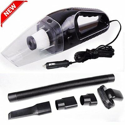 12V120W Portable Wet & Dry Car Vehicle Mini Handheld Vacuum Dirt Cleaner XX