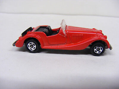 Tomica Tomy 1/57 No F26 Morgan Plus 8 Red  Rare New Model Only Japan
