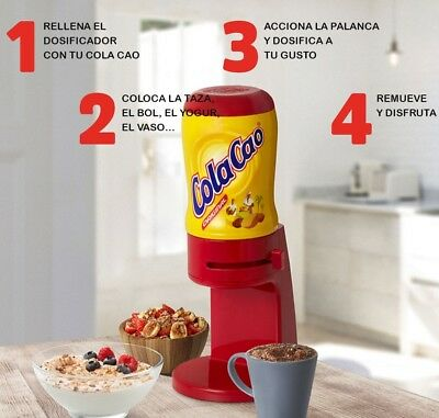 DOSIFICADOR COLA CAO COLACAO DISPENSER  5,1K Spanish Choco Drink 5,1