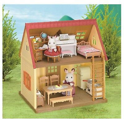 Doll House Furniture Role Play Sylvanian Families Home Game Toy Funny Playset