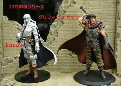 New Berserk DXF Figure Guts & Griffith Figures from Japan F/S