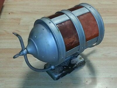 Large Vintage Arts &  Craft Metal Porch Light Lamp Gothic Wall Sconce Fixture