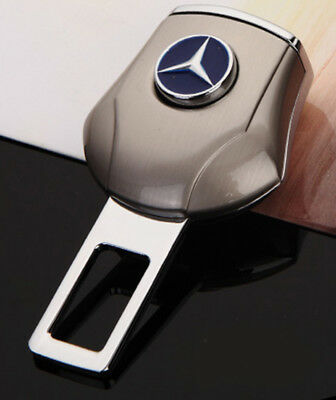 2x Car Safety Seat Belt Plug Extension Clip Buckle Accessories For Mercedes-Benz