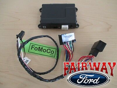 15 thru 19 F-150 OEM Ford Security System w/ Remote Start uses Factory Flip Key!