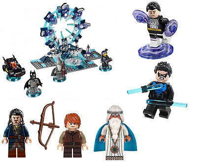 New Lego Minifigures Super Heroes Dimensions Batman Lord Of The Rings Hobbit