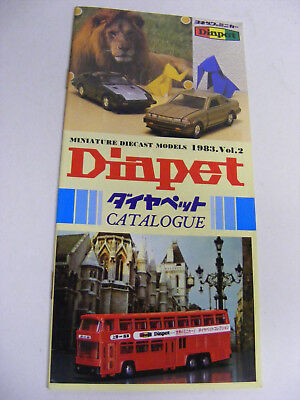 Diapet Catalogue 1983 Vol 2 Very Good