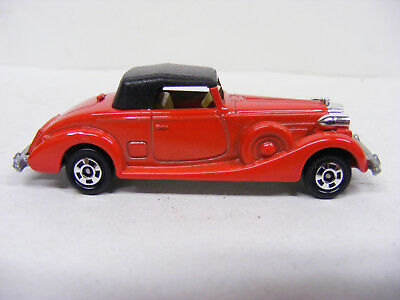 Tomica Tomy 1/72 No F52 PackardCoupe Roadster Red Rare New Model Only Japan