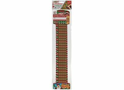 Christmas Countdown Good Behaviour Calendar Scratch Off Advent Elves Chart Gift
