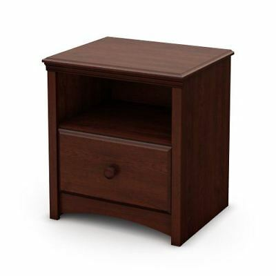 South Shore Furniture Sweet Morning Collection, Nightstand, Royal Cherry