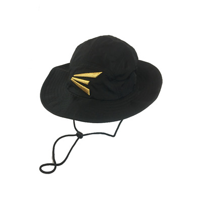"""Easton Bucket Hat – Gold """"E"""" SM/MD, NEW"""