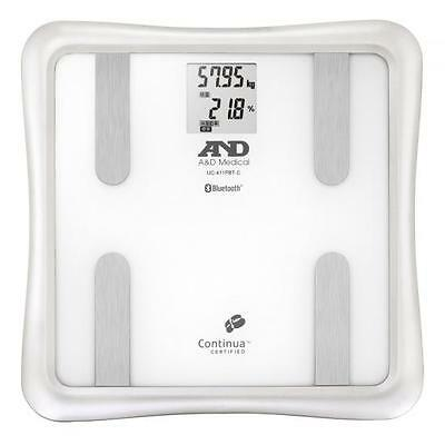 Bluetooth body composition analyser, weight, muscle mass,body fat - iPhone /iPad