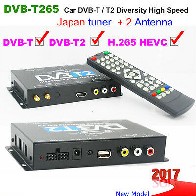DVB T2 H265 HEVC 2017 new model DVB-T265 digital car dvb t2 TV receiver