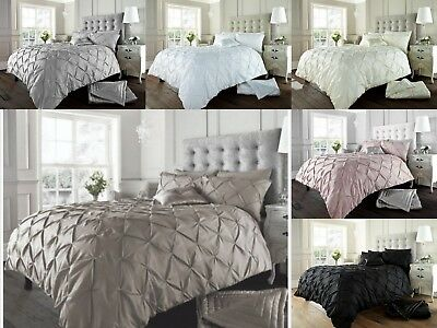 Designer Luxury Embroidered Alford Duvet/ Quilt Cover Bedding Set With Pillows