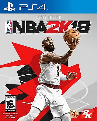 NBA 2K18 For PlayStation 4 Brand NEW Factory Sealed! USA