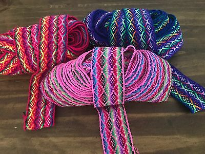 Colorful Andean Ribbons.