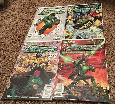 Green Lantern Issue 0,2,3,5 Free Shipping New 52