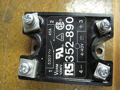 Crydom Solid State Switch Rs 352-890 45A