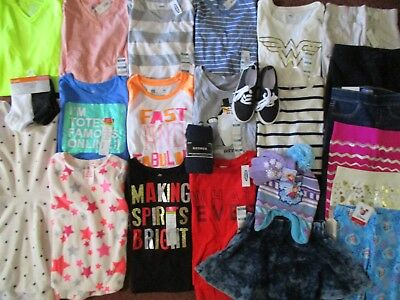 NWT'S Girls Size 6 FALL WINTER SCHOOL Lot Clothes & Outfits Old Navy Shoes NEW!