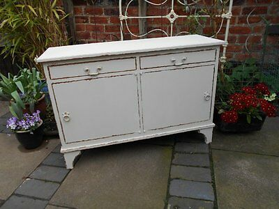 Antique  Victorian  Cupboard / Cabinet  Shabby  Chic