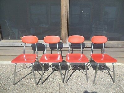 Vintage / Retro High School Student Cafeteria / Casual Restaurant Chairs