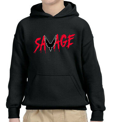 New Way 745 - Youth Hoodie Savage Maverick Logang Logan Paul