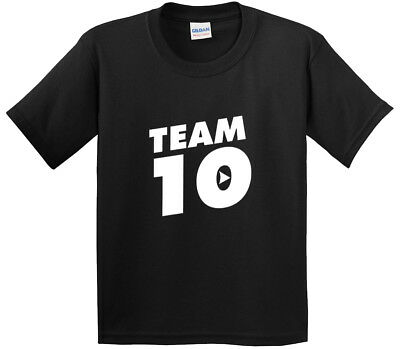 New Way 742 - Youth T-Shirt Team 10 Ten #Team10