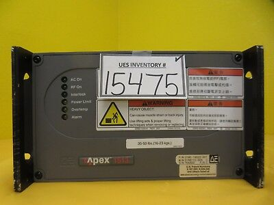 APEX 1513 AE Advanced Energy 0190-19022-001 RF 3156110-005 Used Tested Working