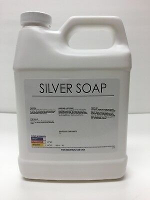Burnishing Compound, liquid silver/stainless steel polishing debur soap  32oz