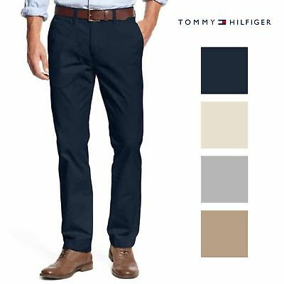 Tommy Hilfiger New Tailored Fit Chino Pants Mallet Mens SIZE and COLOR VARIETY