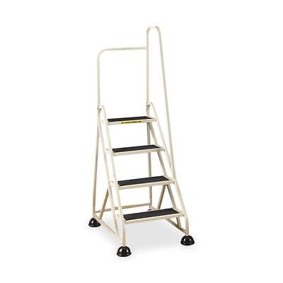 "Cramer 4-Step Ladder w/ Right Handrail 24-5/8""x33-1/2""x66"" Beige 1041R19"
