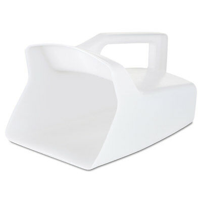 Rubbermaid Commercial Bouncer Bar/Utility Scoop 64oz White 2885WHI