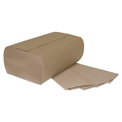GENERAL SUPPLY Multi-Fold Paper Towels 1-Ply Brown 9 1/4 x 9 1/4 250/Pack 1941