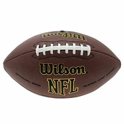 Wilson NFL Tackified American Football Official  Super Bowl Ultra Grip NEU