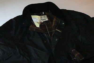 Barbour Summer Trapper Waxed Jacket Coat MWX0978NY92 New Extra Large XL