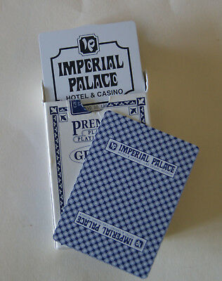 Imperial Palace, Las Vegas, PLASTIC playing cards - RARE