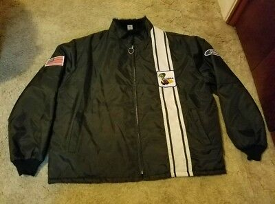 Vintage 1990S Ford Mustang Shelby Cobra Racing Jacket Size Xxl