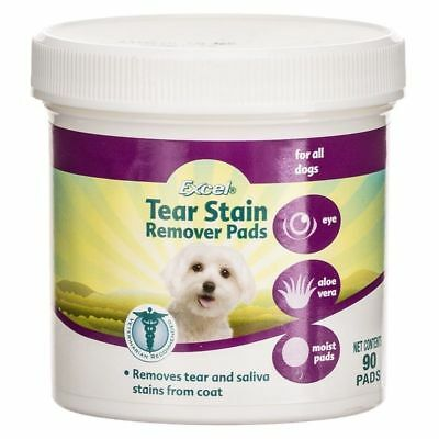 8In1 Excel Tear Stain Remover Pads 90 Ct Dog Or Cat New Packaging Free Ship Usa