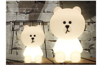Brown Bear Lamp by Mr Maria Dimmable LED Night Light Miffy's Friend for Baby kid