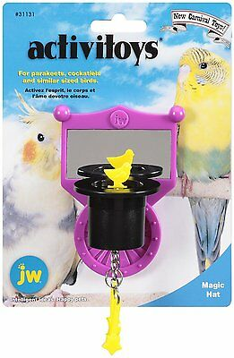 Jw Pet Bird Toy Magic Hat Parakeet Cockatiel Canary Free Ship To The Usa Only