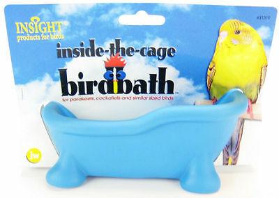 Jw Pet Insight In Cage Bird Bath Toy You Pick Color Free Shipping To The Usa