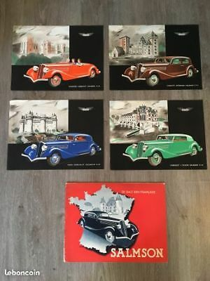 Lot collection catalogues Salmson