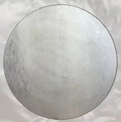 "1/16"" Steel Plate Round Circle Disc 4"" Diameter A36 Steel (.063"")"