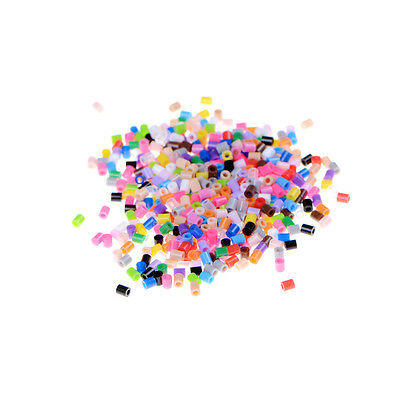 500Pcs/set 2.6mm Mixed Colours PP Hama Perler Beads For Kids Great Fun Toys FF