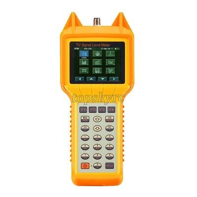RY200D Digital TV Signal Level Meter Tester CATV Cable Testing 5MHz-870MHZ