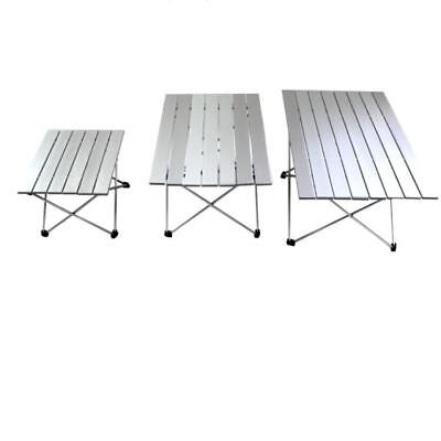 Aluminum Folding Table Portable New Roll Up Table Folding Camping Outdoor Home