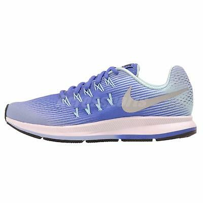 Nike Zoom Pegasus 33 (GS) Kids Youth Womens Running Shoes Blue 834317-403
