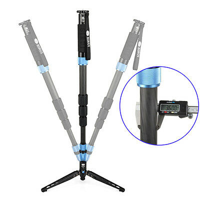 SIRUI P-424S Monopod For Camera Portable Carbon Fiber Tripod  Carrying