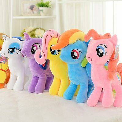 Hot 20CM My Little Pony Horse Figures Stuffed Plush Soft Teddy Doll Toy Gift