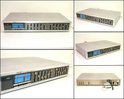 TEAC GE-8 6 Band Stereo Graphic Equalizer