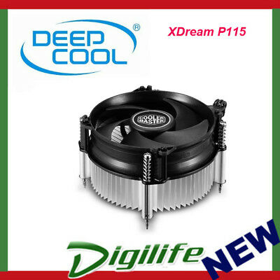 Cooler Master X Dream P115 Low Profile 48.8mm height CPU Cooler
